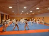 Tělocvična soustředění karate